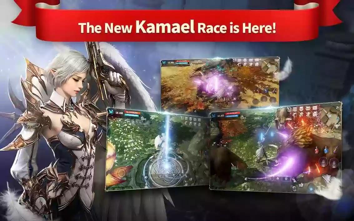 Lineage 2: Revolution توفر هذه اللعبة للاعبين تجارب مختلفة مثل مغامرة المحصنة