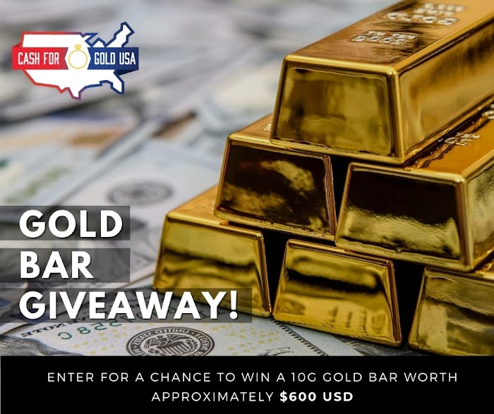 Real GOLD Bar 10g Giveaway  (Worth Over : $600)