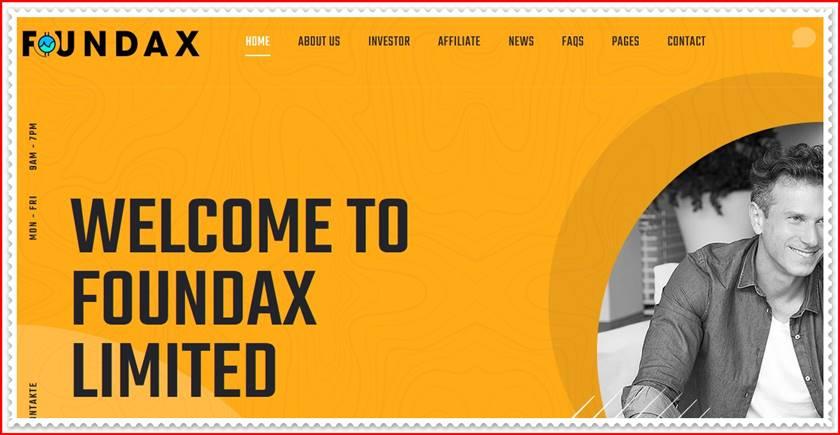 Мошеннический сайт foundax.biz – Отзывы, развод, платит или лохотрон? Мошенники