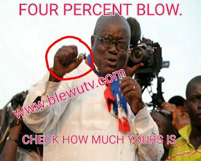 Four percent salary increase