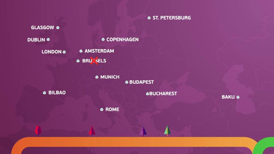 città stadi euro 2020
