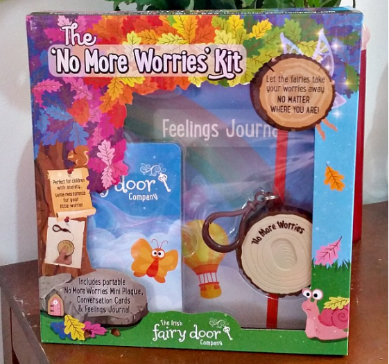 The 'No More Worries' Kit in the box