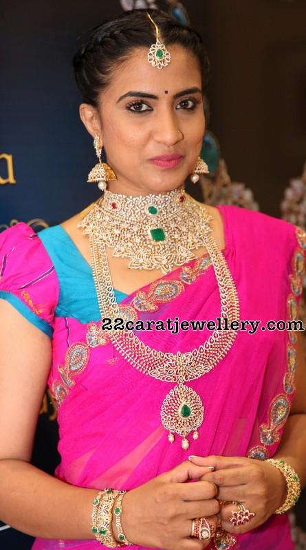 Triveni in PMJ Diamond Jewellery