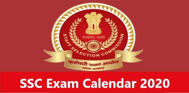 SSC-Exam-Calendar-2020