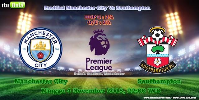 Prediksi Manchester City Vs Southampton  - ituBola