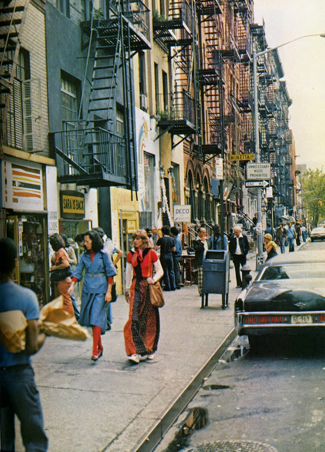 Street Scenes Of New York City Of The Seventies Vintage