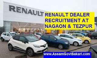 Renault Dealer Recruitment 2019