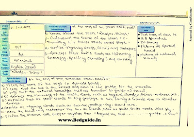 B.ed Assignment and Projects File PDF Download