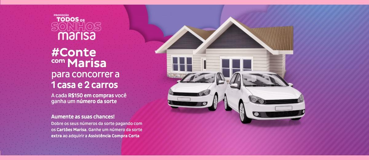 Promoção Todos os Sonhos Marisa 2021 Participar e Prêmios
