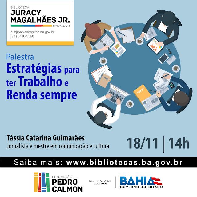 Programação Cultural da Biblioteca do Rio Vermelho para nov/2016