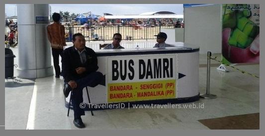 Damri Bandara Internasional Lombok