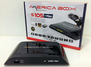 Americabox S105 + Plus Atualização V1.52 - 07/04/2020