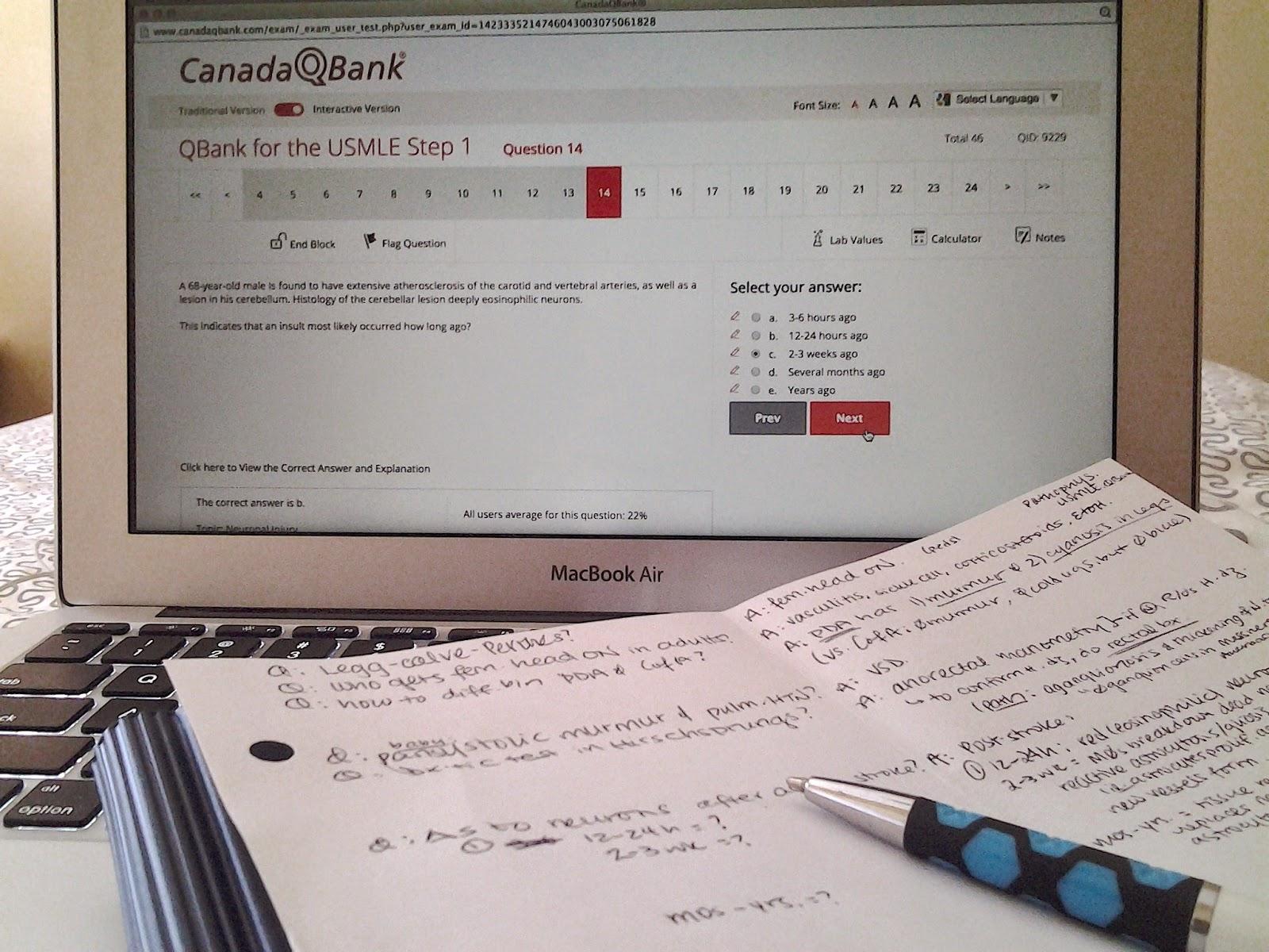 Canada qbank review