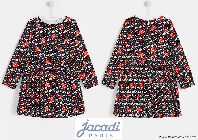 Princess Gabriella wore Jacadi evita corduroy dress