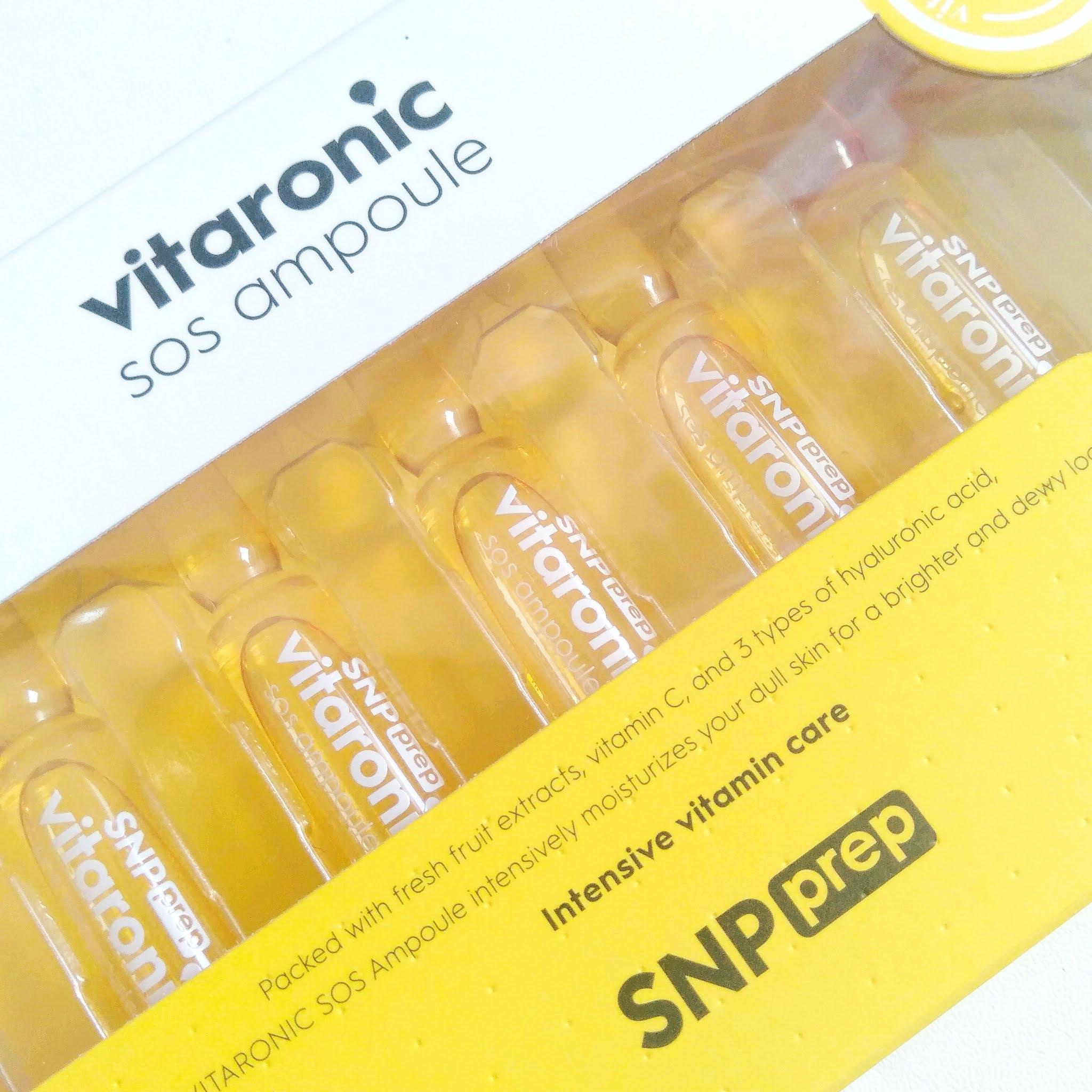 snp-prep-vitaronic-ampoule-review