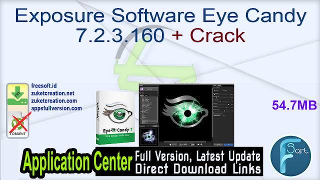 Exposure Software Eye Candy 7.2.3.160 + Crack