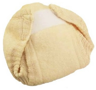 Image: Disana 100% Boiled Merino Wool Diaper/Cover Made in Germany