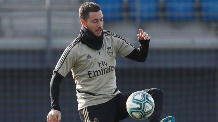 Eden Hazard has sights set on returning for the Madrid derby
