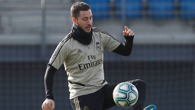 Eden Hazard has sights set on returning for the Madrid derby