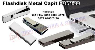 Jual Flashdisk Promosi USB Metal Capit FDMT20 Termurah