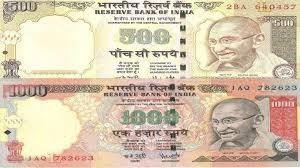 Old 500-1000 Notes Images,