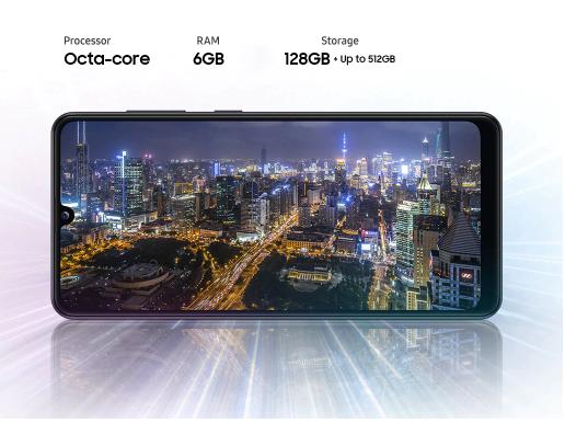 RAM dan ROM Samsung Galaxy A31