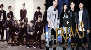 Musik Video The Freaks Feat. Agnez Mo Dituduh Meniru EXO 'MAMA', Aliando, Calvin J, Nikita Willy, dan Rassya Dibully