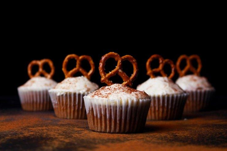 Christmas Chestnut Cupcakes