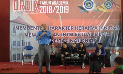 Dekan Fakultas Pertanian Butuh Mahasiswa Tangguh dan Tak Seperti Kapal Selam, Unitri, Maba