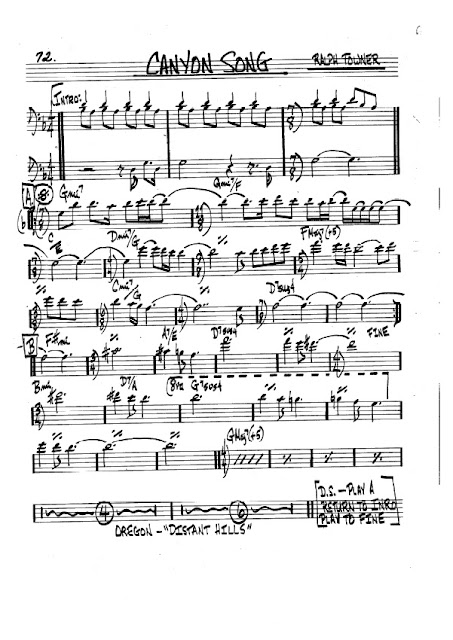 Partitura Violonchelo Ralph Towner