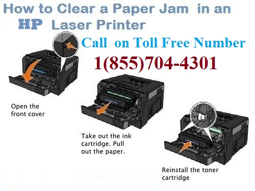 how to remove paper jam from hp printer - Printer Toll Free Number
