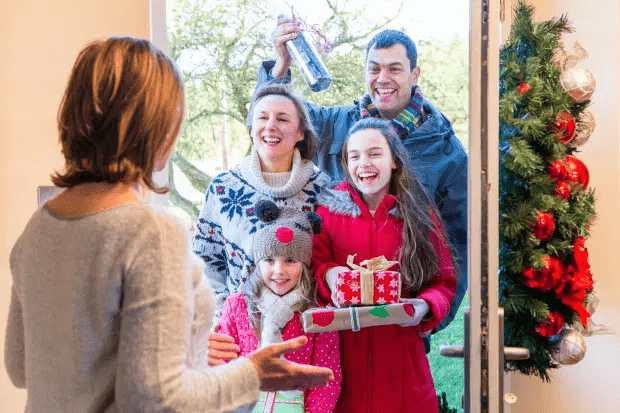 Reglas de la burbuja navideña - La famosa burbuja familiar