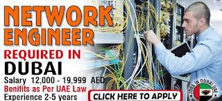 Raqmiyat LLC Company Recruitment Network Engineer For Dubai, United Arab Emirates