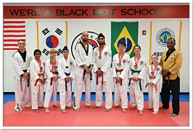 Baystate Taekwondo Academy 2018 USA Taekwondo National Championships Competitors and Coaches | 3 Garnets & 2 Sapphires