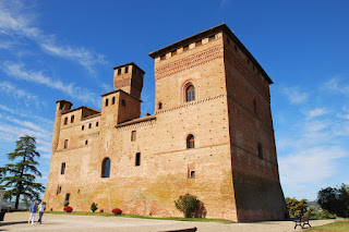 The medieval Grinzane Castle was Cavour's home for 31 years until his death