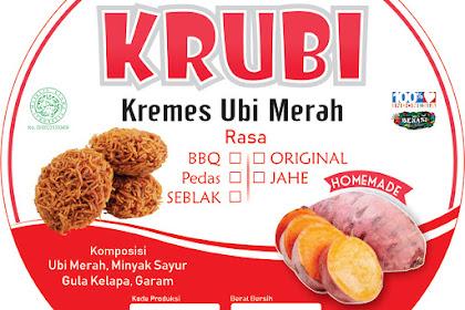 Sticker Label Produk Terbaru - Homemade Industry