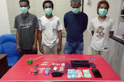 Sat Res Narkoba Polres Sumbawa Amankan Empat Terduga Pelaku Narkoba