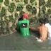 WATCH: Actual Scene Of Catching Python Snake In Marikina