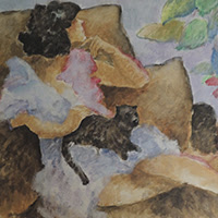 Pedro soler pintura figurativa música