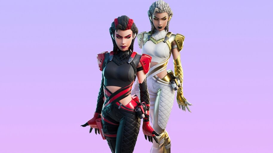 Fortnite, Scarlet Serpent, Skin, Outfit, 4K, #5.2239