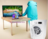 Logo Pulitomania 2019 terza fase: vinci 4 Galaxy A9 , 4 TV , 4 Lavatrici e 4 Tab Samsung