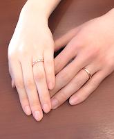 こだわりのマリッジリング(結婚指輪)はオーダーしました。