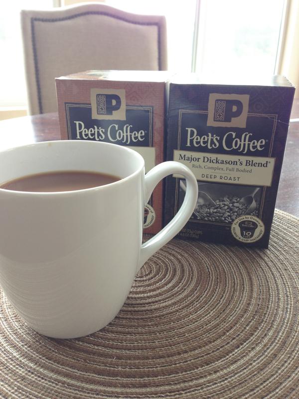 Peet's Pods // www.thoughtsbynatalie.com #PeetsSingleCups