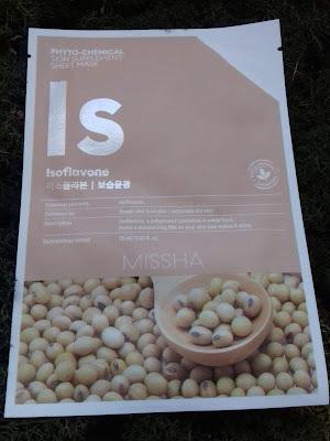 Phytochemical Skin Supplement Sheet Mask (Isoflavone/Deep Moisture)