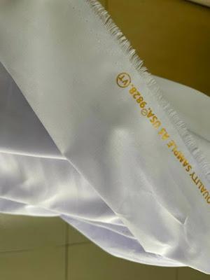 Vải Kate Silk Trắng 1m2/ áo (Khổ 1m6)