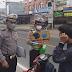 Cegah dan Putus Mata Rantai Covid19, Lantas Sergai Aktif Bagi Masker dan Edukasi Warga.