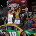 Kyle Busch goes to Victory Lane at Richmond Raceway for three wins in a row