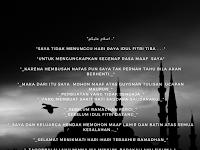 Ucapan Maaf di Akhir Ramadhan Sebelum Hari Idul Fitri
