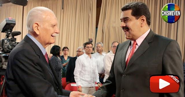 Maduro solicitó la Beatificación de José Vicente Rangel