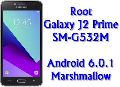 Root Galaxy J2 Prime SM-G532M